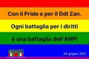 Con il Pride e per il Ddl Zan